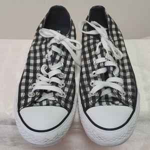 Converse Black & White Check